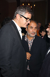 Left to right, JAY JOPLING and ALAN YENTOB at a party to celebrate the publication of Strangeland by artist Tracey Emin at 33 Portland Place, London W1 ON 21ST OCTOBER 2005.<br /><br />NON EXCLUSIVE - WORLD RIGHTS