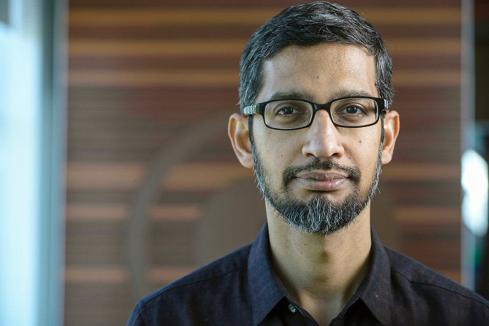 Google CEO Sundar Pichai. Mountain View, CA | The Telegraph  (UK)