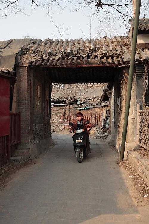 Annexe du temple Wanshou, transformé en quartier d'habitation.