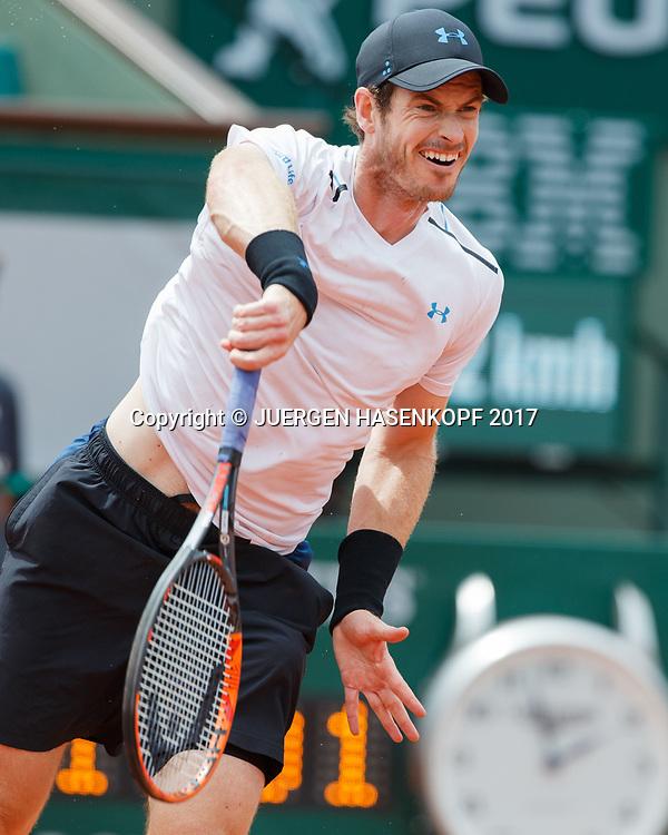 ANDY MURRAY (GBR)<br /> <br /> Tennis - French Open 2017 - Grand Slam / ATP / WTA / ITF -  Roland Garros - Paris -  - France  - 3 June 2017.