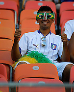 A fan of Italy during the 2014 FIFA World Cup match at Arena da Amazonia, Manaus<br /> Picture by Andrew Tobin/Focus Images Ltd +44 7710 761829<br /> 14/06/2014