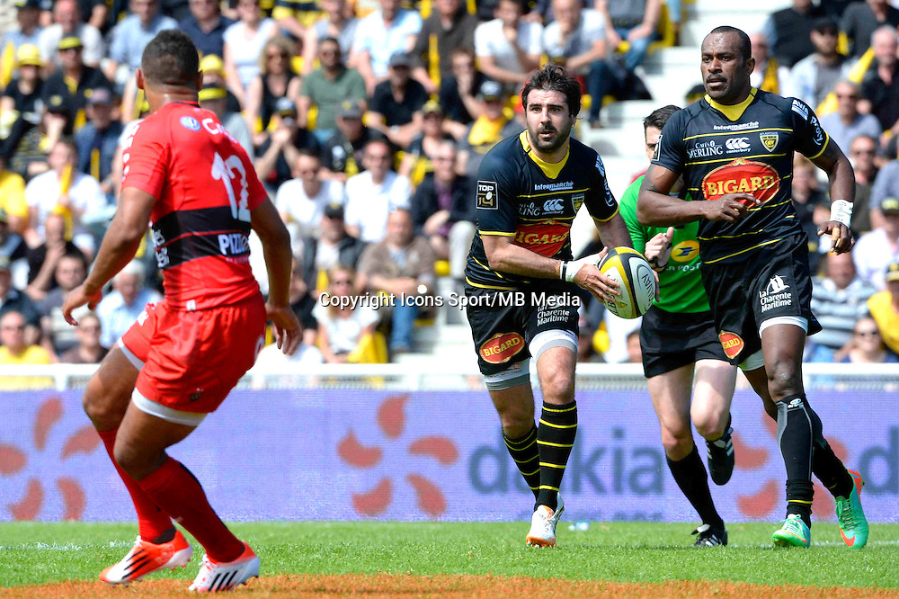 Fabien FORTASSIN - 25.04.2015 - La Rochelle / Toulon - 23eme journee de Top 14<br />