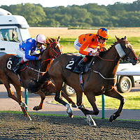 Kiss A Prince and Richard Hughes winning the 8.00 race