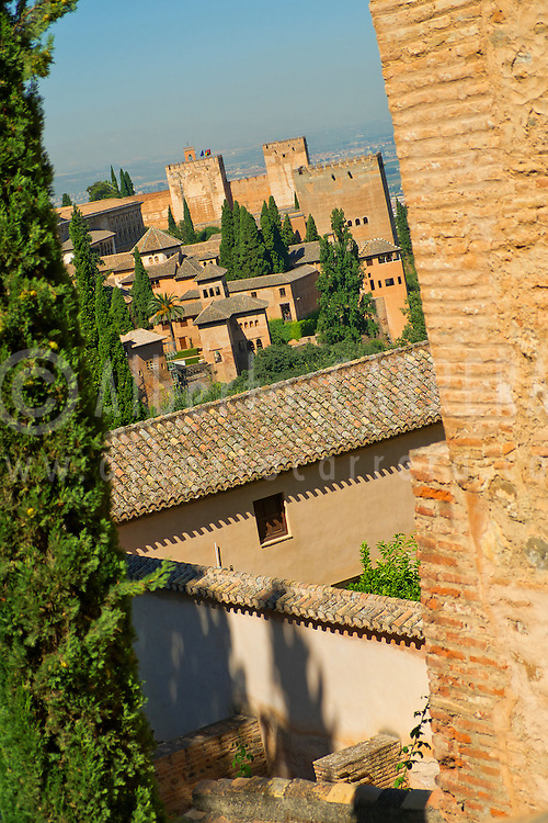 Alberto Carrera, La Alhambra, UNESCO World Heritage Site, Granada, Andalucía, Spain, Europe