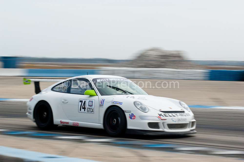 #74 Kelly Moss Motorsports Porsche GT3 Cup: Bill Peluchiwski