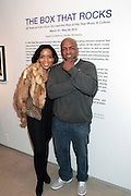 New York, NY- MARCH 10: (L-R) MoCADA Executive Director Laurie Cumbo, Video Music Box Founder Ralph McDaniels at the Opening Reception of ' THE BOX THAT ROCKS: 30 Years of Video Music Box and the Rise of Hip Hop Music & Culture held at the Museum of Contemporary African Diasporan Arts (MoCADA) on March 10, 2012 in Brooklyn, New York City. (Photo by Terrence Jennings)