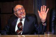 Elio Toaff  Rabbino Capo della comunità ebraica di Roma .Elio Toaff   is the former Chief Rabbi of Rome