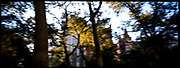 Central Park Blur, New York City, New York, USA, November 2002
