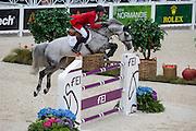 Ludger Beerbaum - Chiara<br /> Alltech FEI World Equestrian Games™ 2014 - Normandy, France.<br /> © DigiShots