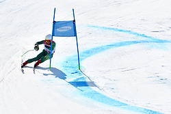 GOURLEY Mitchell LW6/8-2 AUS competing in ParaSkiAlpin, Para Alpine Skiing, Super G at PyeongChang2018 Winter Paralympic Games, South Korea.