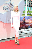 Ashley Roberts, Divergent - European film premiere, Odeon Leicester Square, London UK, 30 March 2014, Photo by Richard Goldschmidt