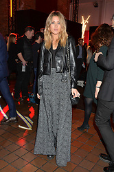 KARA ROSE MARSHALL at the YSL Beauty: YSL Loves Your Lips party held at The Boiler House,The Old Truman Brewery, Brick Lane,London on 20th January 2015.