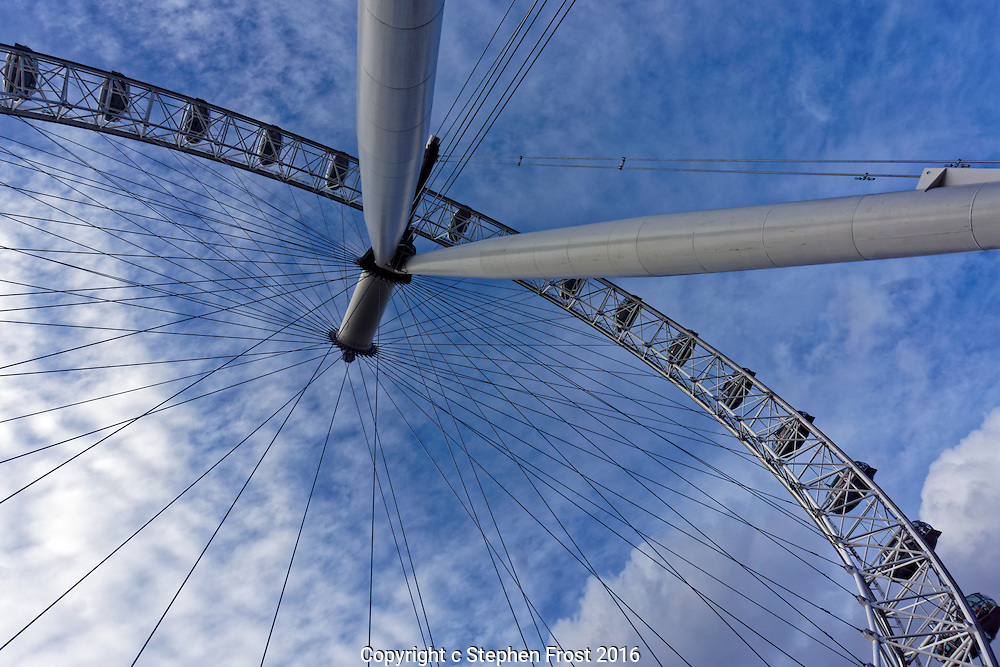 A snail's view of the London Eye.<br />