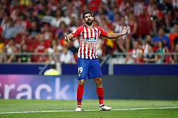 August 25, 2018 - Diego Costa of Atletico de Madrid during the spanish league, La Liga, football match between Atletico de Madrid and Rayo Vallecano on August 25, 2018 at Wanda Metropolitano stadium in Madrid, Spain. (Credit Image: © AFP7 via ZUMA Wire)
