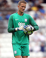 Preston North End goalkeeper Anders Lindegaard