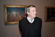 NORMAN ROSENTHAL, Gauguin, Tate Modern. London. 28 September 2010. -DO NOT ARCHIVE-© Copyright Photograph by Dafydd Jones. 248 Clapham Rd. London SW9 0PZ. Tel 0207 820 0771. www.dafjones.com.
