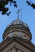 Montevideo, Uruguay - A Church Steeple in downtown Montevideo