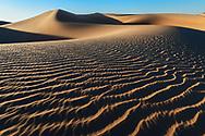Sahara desert sand dunes, Erg Lihoudi, Morocco.