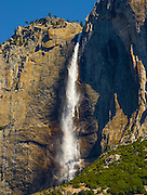 Yosemite Falls at Yosemite National Park During Summer