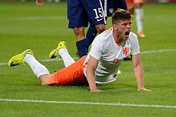 05-06-2015 NED: Oefeninterland Nederland - USA, Amsterdam<br /> Oranje verliest oefeninterland tegen Verenigde Staten met 4-3 / Klaas-Jan Huntelaar #9 scoort de 2-1