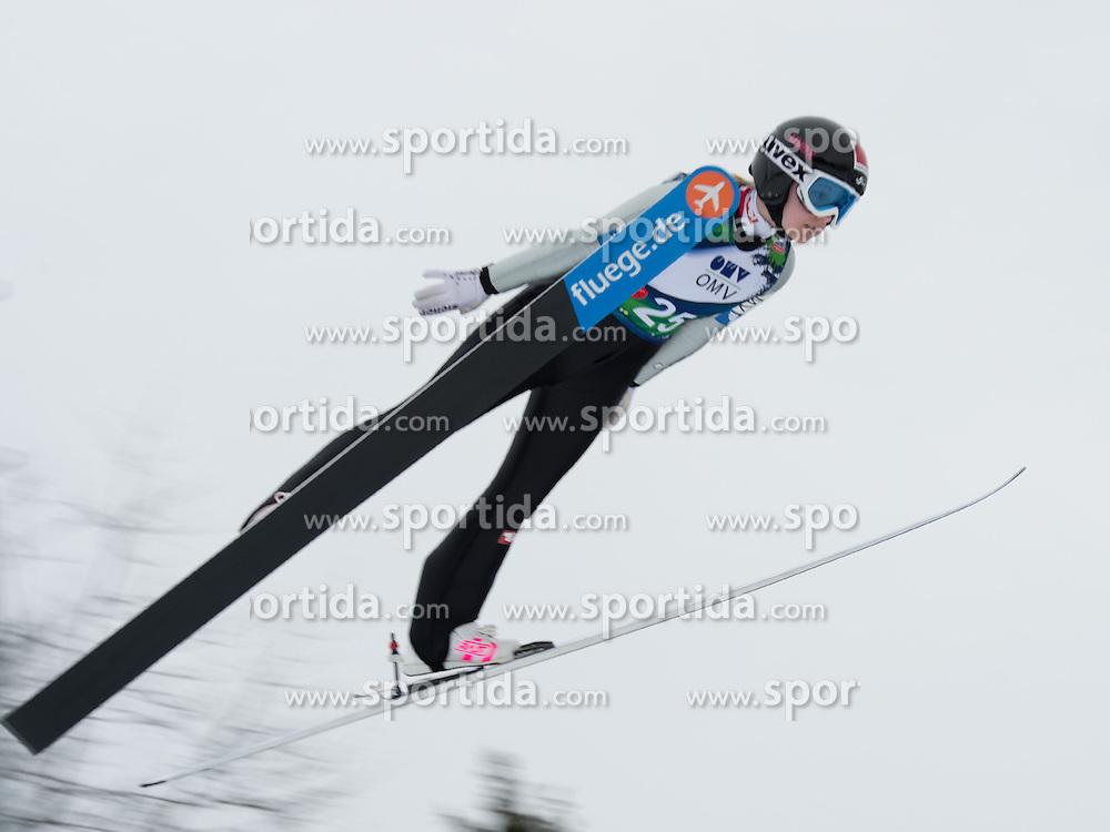 31.01.2014, Energie AG Skisprung Arena, Hinzenbach, AUT, FIS Ski Sprung, FIS Ski Jumping World Cup Ladies, Hinzenbach, Training im Bild #25 Chiara Hölzl (AUT) // during FIS Ski Jumping World Cup Ladies at the Energie AG Skisprung Arena, Hinzenbach, Austria on 2014/01/31. EXPA Pictures © 2014, PhotoCredit: EXPA/ Reinhard Eisenbauer