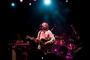 Irish singer Bob Geldof performs at the Irish Village, Dubai as part of its St. Patrick's Day celebrations on March 14, 2008.