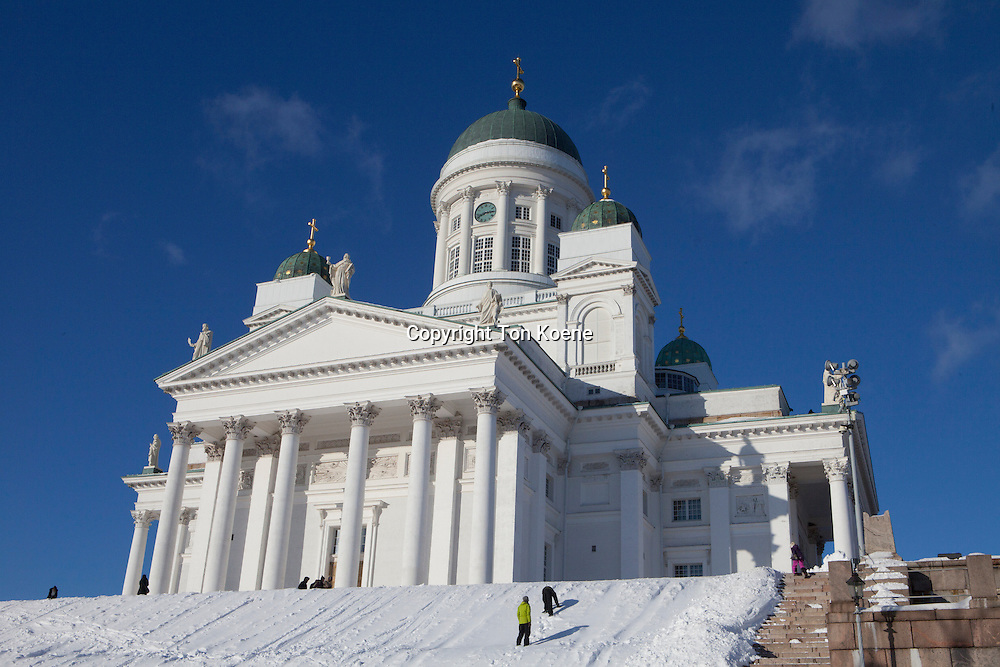 helsinki church in Finland