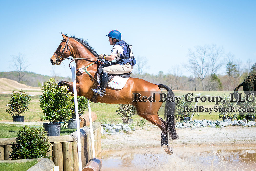 Ashley MacVaugh and Reuben Rialto at The Fork Horse Trials at the Tryon International Equestrian Center in Millbrook, North Carolina.