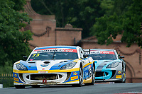 Nathan Freke (GBR) / Anna Walewska (GBR)  #73 Century Motorsport  Ginetta G55 GT4  Ford Cyclone 3.7L V6 British GT Championship at Oulton Park, Little Budworth, Cheshire, United Kingdom. May 28 2016. World Copyright Peter Taylor/PSP.