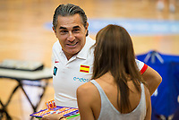 Coach Sergio Scaliolo during the Spain training session before EuroBasket 2017 in Madrid. August 02, 2017. (ALTERPHOTOS/Borja B.Hojas)