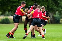 England U18 training session before their flight to South Africa for the 2019 International Series - Rogan/JMP - 21/02/2019 - The Lensbury Hotel - Teddington, England.