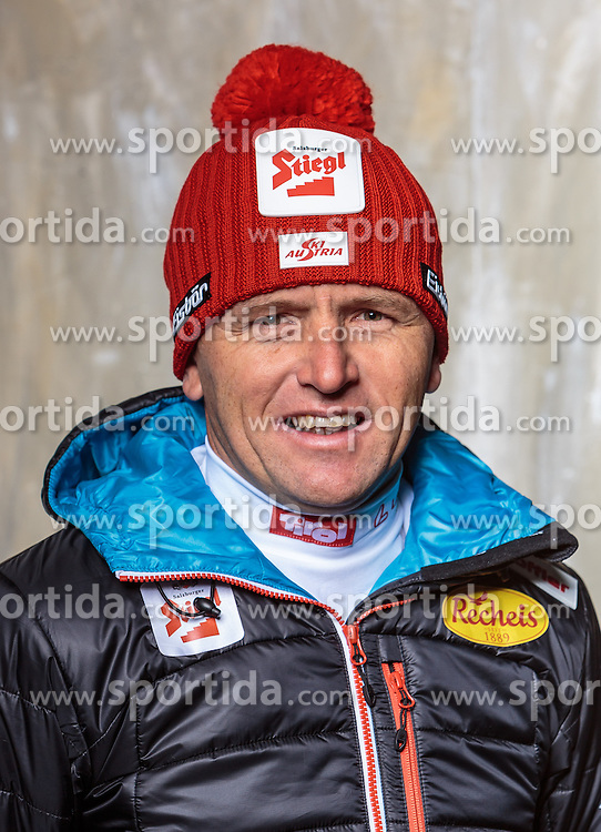 08.10.2016, Olympia Eisstadion, Innsbruck, AUT, OeSV Einkleidung Winterkollektion, Portraits 2016, im Bild Bernhard Pollerus, Nordische Kombination // during the Outfitting of the Ski Austria Winter Collection and official Portrait Photoshooting at the Olympia Eisstadion in Innsbruck, Austria on 2016/10/08. EXPA Pictures © 2016, PhotoCredit: EXPA/ JFK