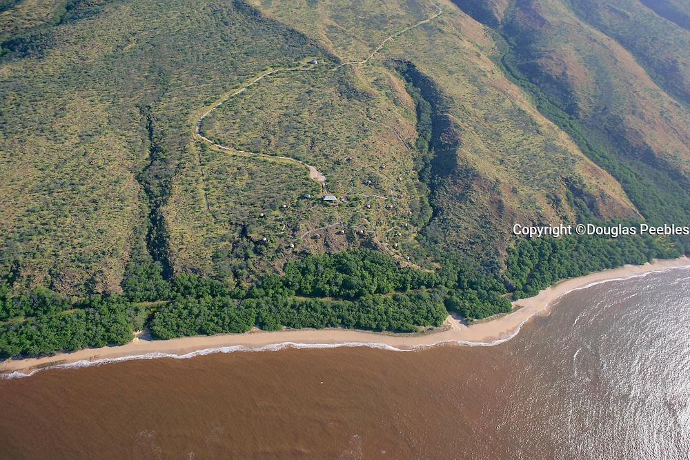 Molokai coastline