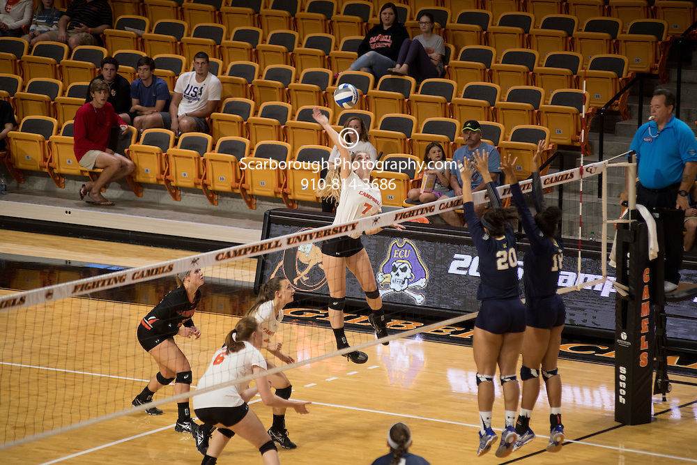 2016 Campbell University Volleyball vs Navy