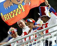 GEPA-1006085929 - INNSBRUCK,AUSTRIA,10.JUN.08 - FUSSBALL - UEFA Europameisterschaft, EURO 2008, Spanien vs Russland, ESP vs RUS. Bild zeigt Fans von Russland.<br />Foto: GEPA pictures/ Oskar Hoeher