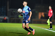 Wycombe Wanderers defender Sido Jambati (2) controls the ball during the The FA Cup match between Wycombe Wanderers and Tranmere Rovers at Adams Park, High Wycombe, England on 20 November 2019.