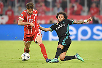 v.l. Javier ''Javi'' Martinez (Bayern), Marcelo<br /> Muenchen, 25.04.2018, Fussball, Champions League, Halbfinale Hinspiel, FC Bayern Muenchen - Real Madrid<br /> <br /> Norway only