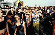 People on the street, Brighton Dance Parade 1997
