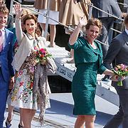 NLD/Dordrecht/20150427 - Koningsdag 2015 in Dordrecht, Bernhard Jr. en partner Annet Sekereve