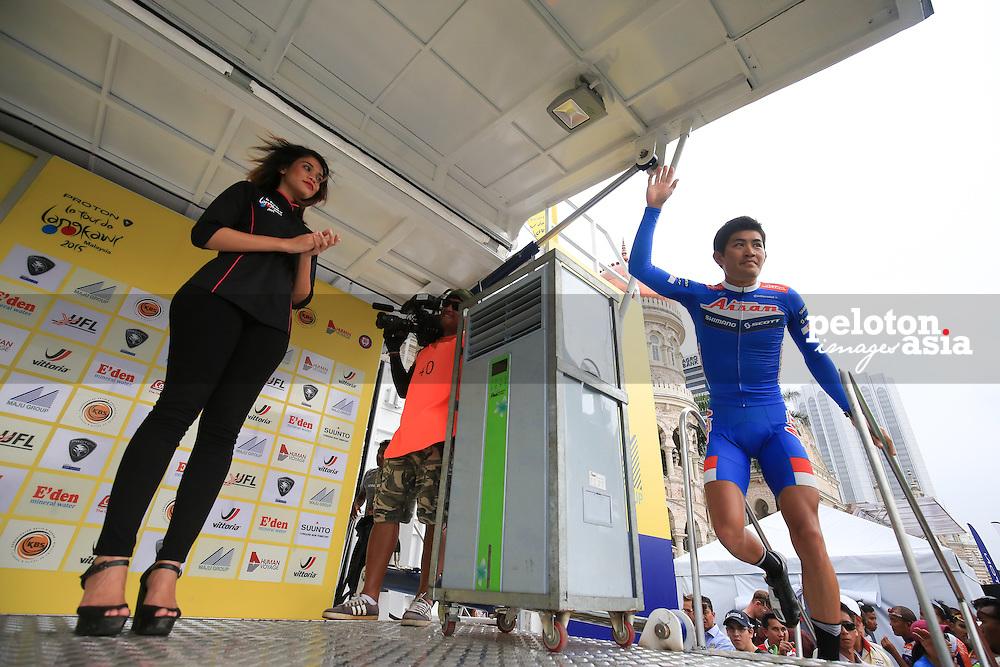 Le Tour De Langkawi 2015/Stage 8- Kuala Kubu Bahru - Kuala Lumpur Loop/ 96.1km/Aisan