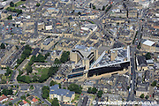 aerial photograph of Halifax West Yorkshire  England UK