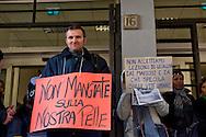 """Roma, 09 Dicembre 2014<br /> Mafia Capitale: occupato l'assessorato alle Politiche Sociali di Roma Capitale da Action diritti in movimento, per denunciare, l'incapacità dell'assessorato nella gestione del sociale e per il profitto e la speculazione su chi vive un disagio economico e sociale come riportato dall'inchiesta e dagli arresti della magistratura nell'operazione """"Mondo di Mezzo"""".<br /> <br /> Rome, December 9, 2014<br /> Mafia Capital: occupied the Department of Social Policies of Roma Capitale by Action rights in movement, to denounce  the inability the Councillor in the management of social and for profit and speculation about who lives an economic and social hardship as reported by investigation and arrests in the operation of the judiciary """"Middle World""""."""
