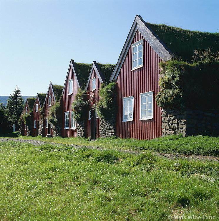 Bustarfell - Burstarfell (Burstafell) , byggðasafn Vopnfirðinga. Vopnafjörður, Vopnafjarðarhreppur.Bustarfell old farm and folks museum for Vopnafjordur.