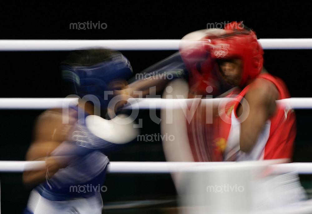 Olympia 2004 Athen Boxen 57 Kg Maenner Feature; Wischer