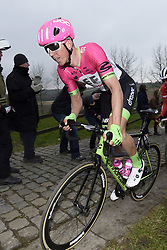March 23, 2018 - Harelbeke, Belgique - HARELBEKE, BELGIUM - MARCH 23 : VANMARCKE Sep (BEL)  of Team EF Education First - Drapac p/b Cannondale during the 60th Record Bank E3 Harelbeke cycling race with start in Harelbeke and finish in Harelbeke (206 kms) on March 23, 2018 in Harelbeke, Belgium, 23/03/2018 (Credit Image: © Panoramic via ZUMA Press)