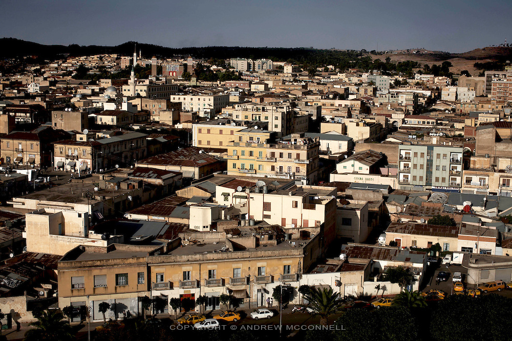 The Eritrean capital Asmara..