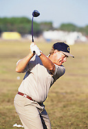 960720/ ROYAL LYTHAM ST. ANNES, UK/ PHOTO MARK NEWCOMBE / THE OPEN CHAMPIONSHIP 1996<br /> Jack Nicklaus practising