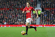 Daley Blind Midfielder of Manchester United during the Premier League match between Manchester United and Middlesbrough at Old Trafford, Manchester, England on 31 December 2016. Photo by Phil Duncan.