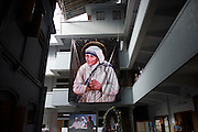 KOLKATA, INDIA 4 SEPT: Images from the Canonization of Saint Mother Teresa at the Motherhouse in Calcutta, India.