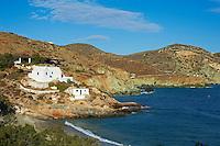 Grece, Cyclades, ile de Folegandros, Fira,eglise Agios Nikolaos // Greece, Cyclades islands, Folegandros, Fira, Agios Nikolaos church